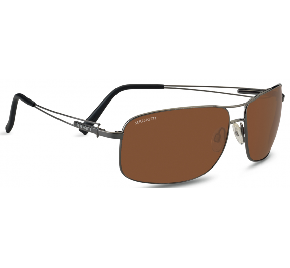 Sassari 7665 Shiny Gunmetal Drivers Polarized