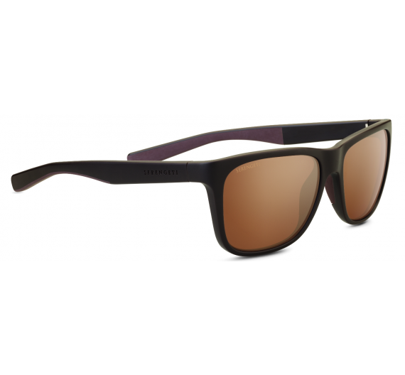 Livio 8684 Sanded Brown/Dark Brown Drivers Polarized