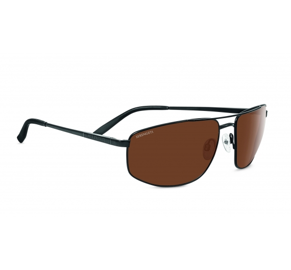 Modugno 8406 Satin Black Drivers Polarized