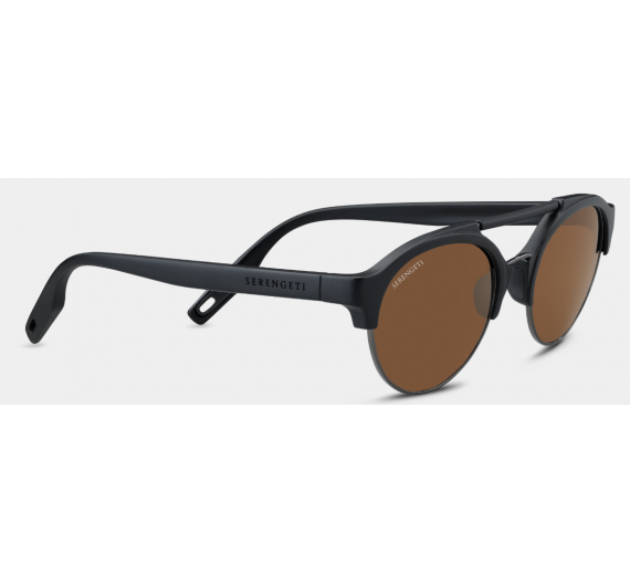 Savio 8561 Satin Black/Shiny Gunmetal Drivers Polarized