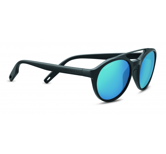 Leandro 8594 Sat.Dark Grey/Sat.Dark Gunmetal Polarized