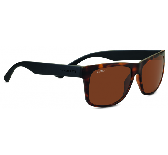 Positano 8693 Satin Tortoise/Satin Black Drivers Polarized